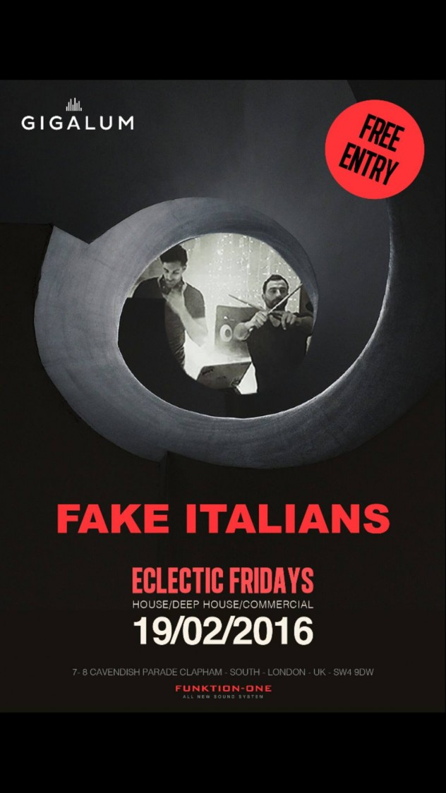 Spectacular DJ and Drums show by Fake Italians
