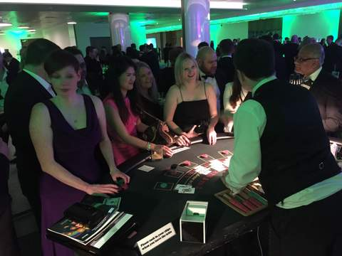 Casino Tables Hire with Platinum Entertainment Agency
