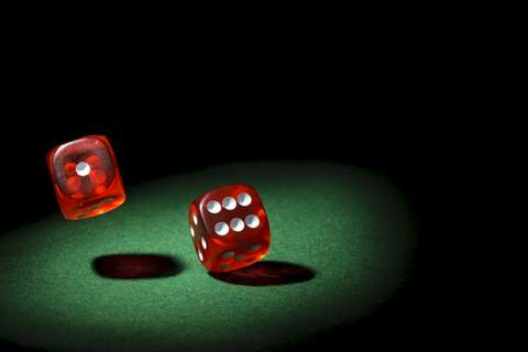 Platinum Entertainment Agency presents fun casino tables hire and Dice.