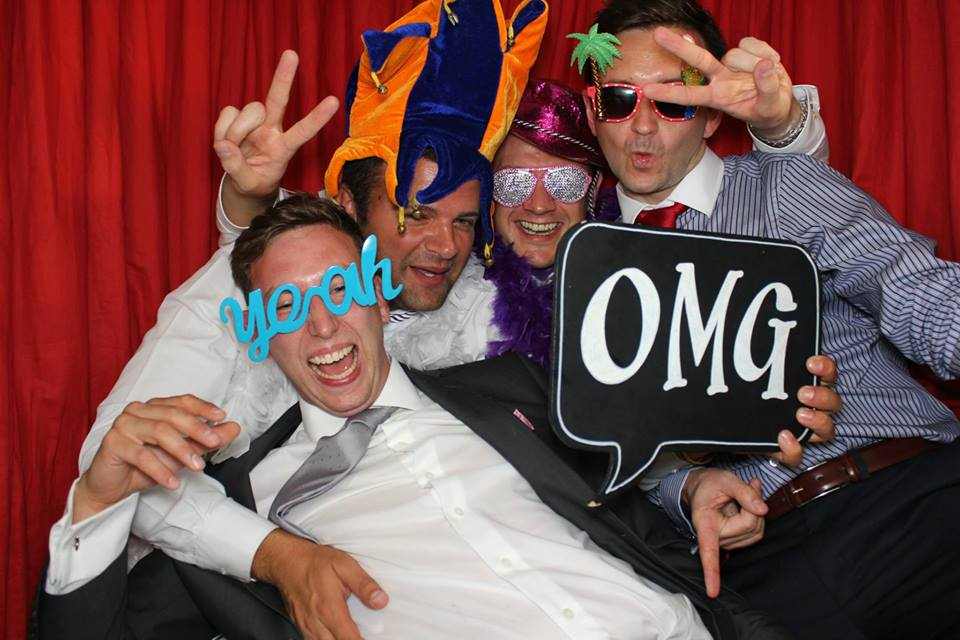 Entertain your guests with a fun photo booth