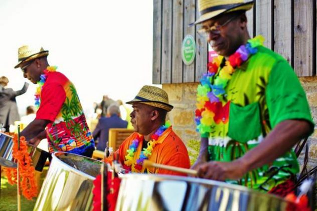 Platinum Entertainment Agency provides a professional steel drum band.