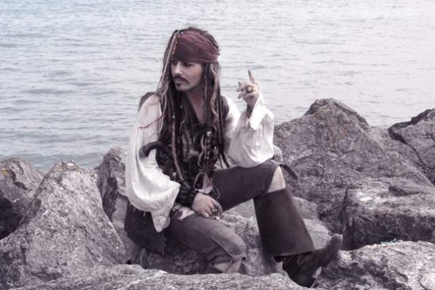 Book our Jack Sparrow Look a Like at Platinum Entertainment