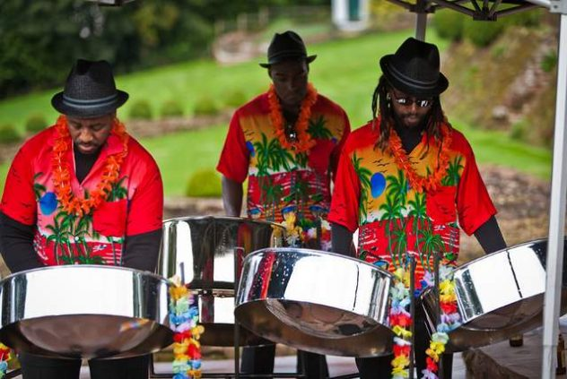 Platinum Entertainment Agency provides Steel Drum Bands for parties and weddings.
