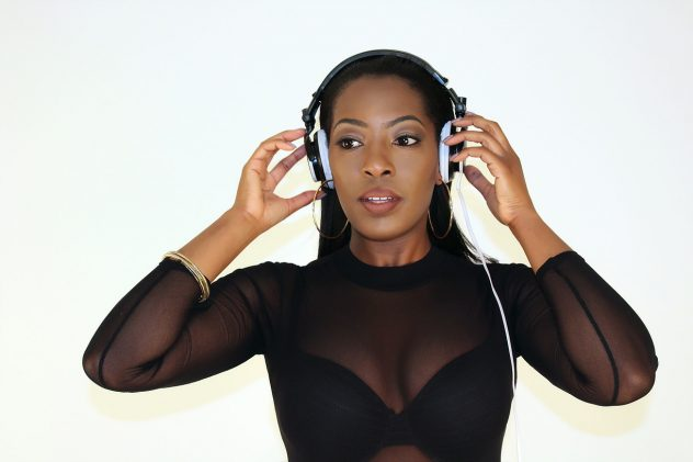 Female DJ Keshia performs for Platinum Entertainment in London and Kent.