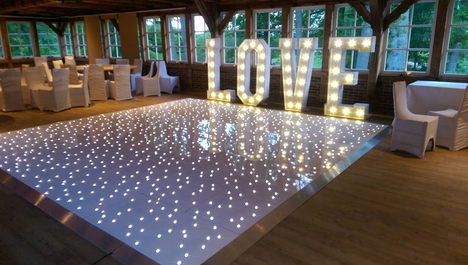 LED Dance floor hire in London, Kent, Surrey and Essex.