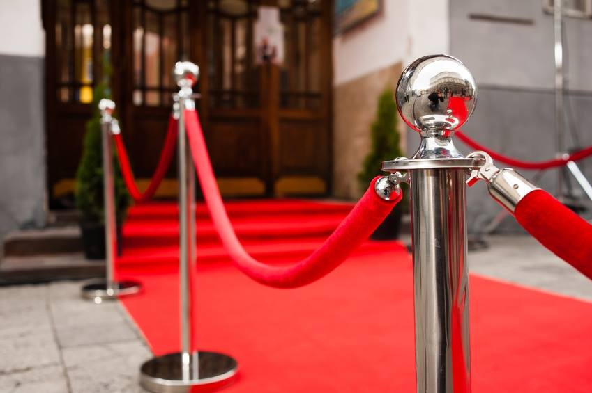 Hire a red carpet for your event.