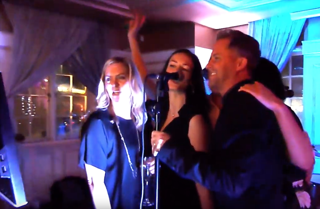 Karaoke with a live band!